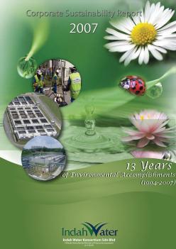 Sustainability Report 2007